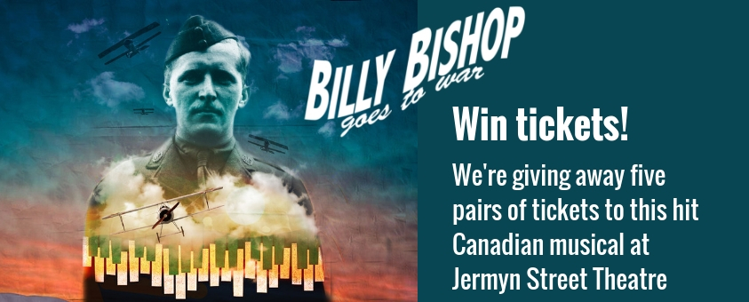 Win tickets to Billy Bishop